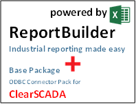 ReportBuilder + FunctionPack for ClearSCADA - Industrial Reporting