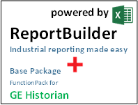 ReportBuilder + FunctionPack for GE Historian - Industrial Reporting
