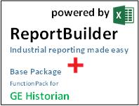 ReportBuilder + FunctionPack for GE Historian - Industrial Reporting