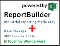 ReportBuilder + Connector for InTouch ODBC - Industrial Reporting
