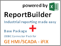 ReportBuilder + Connector for GE HMI/SCADA iFIX - Industrial Reporting