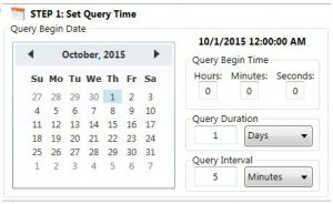 QueryBeginDateTime - Wonderware InTouch Reports